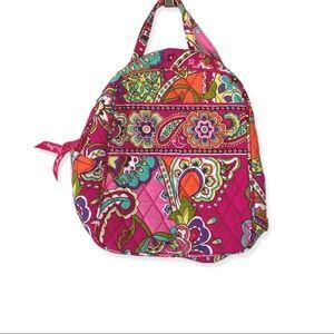 NWOT Vera Bradley Lunch Bag Pink Swirl Paisley